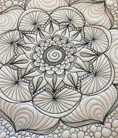 """Henna"" Fabric Panel"
