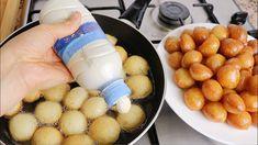 Beignets, Dessert Arabe, Baking Recipes, Dessert Recipes, Empty Bottles, Arabic Food, Confectionery, Relleno, No Bake Cake