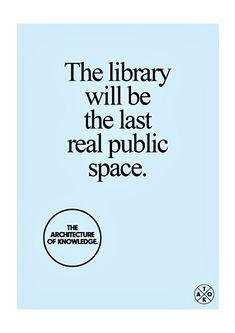 Arquitectura del conocimiento. Bibliotecas  Architecture of knowledge. Libraries
