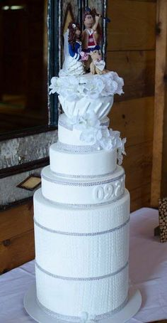 Stanley cup wedding cake! Wedding Gallery - Chick Boss Cake
