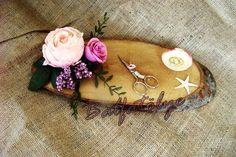 ağaç nişan tepsisi  #ağaç #nişantepsisi #söztepsisi #kütük #doğal #denizyıldızı #makas #nişanmakası #alyans #diy #elyapımı #çiçek #balfatölye #tasarım #evlilikhazırlığı #nişan #söz #isteme #pembe #mor