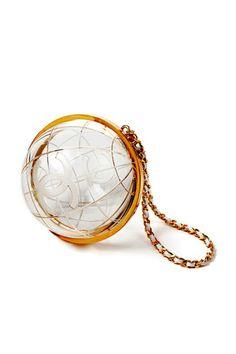 CHANEL globe bag