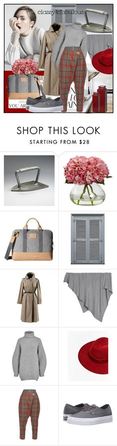 """""""Tartan"""" by din-sesantadue ❤ liked on Polyvore featuring Cyan Design, Pendleton, Burberry, Barefoot Dreams, Acne Studios, Vivienne Westwood Anglomania, Vans and Grace"""