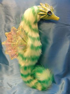 Lucky the Shamrock Seahorse by LabelMeInsomniac.deviantart.com on @DeviantArt