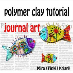 DIY Polymer Clay tutorial polymer clay PDF Tutorial by MIRAKRIS