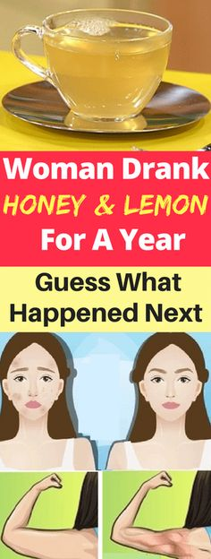 This Woman Drank Honey And Lemon For A Year, Guess What Happened Next – Today Health People