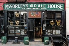 """McSorley's Old Ale House"" East 7th Street (nahe Copper Square)"