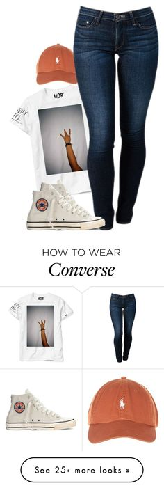 """chuck mob."" by dopely-unique on Polyvore featuring Converse and THVM"