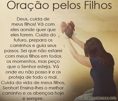 Prayer for our Children (In Portuguese) Prayer For Our Children, Pray Without Ceasing, Catholic Religion, Catholic Prayers, God Prayer, Zen Yoga, Family Love, Good People, Kids And Parenting
