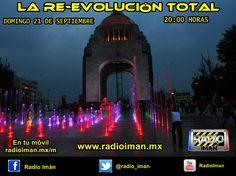 La RE-EVOLUCIÓN TOTAL... al aireeee  No hay fecha que no se cumpla... y esta noche, a partir de las 20:00 horas, te esperamos en el regreso de LA RE-EVOLUCIÓN TOTAL, donde tendremos música, entrevistas, deportes y mucho más. Ya estaremos agendando las entrevistas, por lo pronto, nos escuchamos hoy, hoy hoy. Por www.radioiman.mx