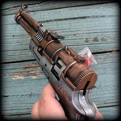 Steampunk Victorian TESLA  CAP Gun  VAMPIRE  killer