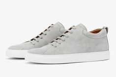 Handmade sneakers without compromise. CQP offers sneakers with Quality, Design and Comfort. Learn more about CQP and our ethos. Grey Sneakers, Shoes Sneakers, Minimalist Sneakers, Minimalist Dresses, Minimalist Lifestyle, Trendy Shoes, Dress Shoes, Converse, Classic