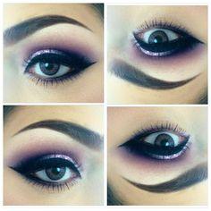 perfect purple smoky eye