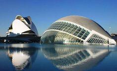 Cité des arts et des sciences de Valence (complexe culturel) / Santiago Calatrava / Valence, Espagne