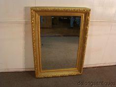 c15eeecb6273 45147 LaBarge Gold Gilt Mirror  LaBarge Beveled Edge Mirror