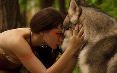 """Képtalálat a következőre: """"indián lány farkas"""""""