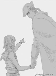 On the flip side, always wondered what it'd be like if Charles Lee hadn't done bad to Connor... kid coulda grown a Templar instead...