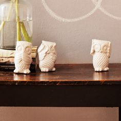 Hear, Speak, See Owl Set - HomeMint