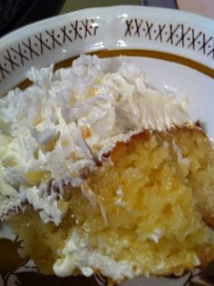 Coconut Sheet Cake! Very moist, easy to make! Super delcious, plus you do not have to make the pudding ahead of time...just add the mix to the cake batter! Enjoy!