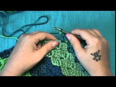 """Adding Border to your C2C Afghan""--(Corner to Corner) - YouTube"
