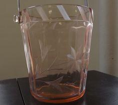Vintage Art Deco Ice Bucket by UniquelyAttainable on Etsy, $40.00