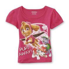 "Toddler Girls Paw Patrol Pink ""Pups Away"" Shirt NWT Sz 4T ~ VHTF!! Cute Gift!!  #Nickelodeon #Everyday"