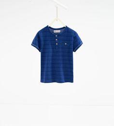 Bild 2 av T-shirt i jacquard från Zara T Shirt, Shirt Dress, Zara New, Barn, Design Inspiration, Kids, Dresses, Image, Spring