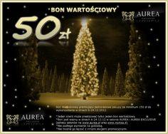 Świąteczny bon wartościowy do Aurea Exclusive