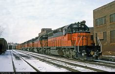 RailPictures.Net Photo: MILW 201 Chicago, Milwaukee, St. Paul & Pacific EMD SD40-2 at Milwaukee, Wisconsin by Tom Farence