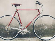 Custom bikes  Auftragsfahrrad nach Kundenwunsch  In 4 Schritten zu deinem Traumrad  Als Kunde eines custom bikes kannst Du dich in den Entstehungsprozess mit einbringen. Vorwissen brauchst Du dazu keines, nur die Lust am Radfahren.  Mehr infos auf dem Link! Vintage Bicycles, Custom Bikes, Upcycle, Link, Shopping, Bicycles, Biking, Trial Bike, Upcycling