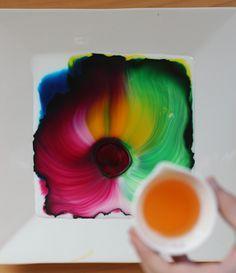 Fun Kid Experiment: Watch Color Dancing in a Dish!FlutterFlutter