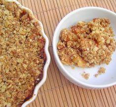 Crumble de Manzanas con Copos de Avena y Canela | Cocina
