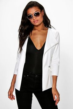 Shop boohoo's range of womens and mens clothing for the latest fashion trends you can totally do your thing in, with of new styles landing every day! Frock Coat, Color Beige, Jackett, Jackets For Women, Women's Jackets, Online Shopping Clothes, Frocks, Latest Fashion Trends, Bomber Jacket