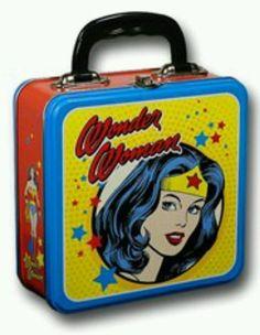 Wonder Woman Lunchbox Adult Lunch Box, School Lunch Box, Real Food Recipes,  Kid b4916fc379