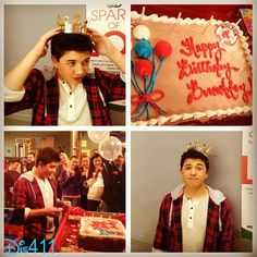 "Bradley Steven Perry Celebrated His Birthday On The Set Of ""Mighty Med"" November 22, 2013"
