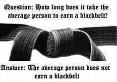 The average person does not earn a Black Belt. Don't be average. Lion's Den Hodges Kenpo Karate, Kerman, CA Shotokan Karate, Kenpo Karate, Isshinryu Karate, Karate Cake, Kyokushin Karate, Martial Arts Quotes, Martial Arts Workout, Martial Arts Training, Boxing Workout