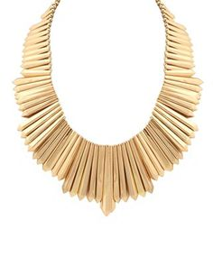 house of harlow mini dagger collar necklace $148