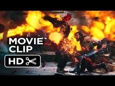 I, Frankenstein Movie CLIP - Fire Fight (2014) - Aaron Eckhart Movie HD