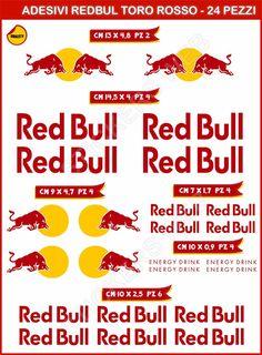 Red Bull, Slot Cars, Rc Cars, Motorcycle Decals, Car Logo Design, Mini 4wd, Sticker Bomb, Garage Art, Car Logos