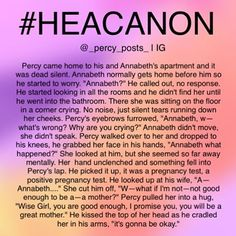 """1,942 Likes, 25 Comments - ava and katie (@_percy_posts_) on Instagram: """"Headcanon {My edit give credit} - - okay so this is another random #Headcanon I thought of! If you…"""""""