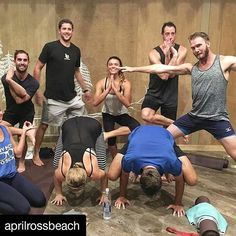 Best yoga crew ever!  #Repost @aprilrossbeach with @repostapp ・・・ Most amazing yoga class I've ever taken, thanks @chelslowe!! I'm going to master that crow pose!😜