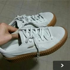 Puma Rihanna creepers Worn once. Show no sign of worn except the bottom. Size 8. 100% authentic purchased from Nordstrom. Selling because they fit a bit too tight for me. Although it was ok, I personally prefer loose fit. Price firms, but I can do 240 including shipping in mecari. Puma Shoes Sneakers