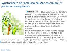 Ayuntamiento de Santillana del Mar contratará 21 personas desempleadas