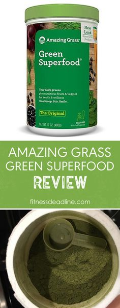 Green superfood powder. A review of Amazing Grass Green Superfood supplement powder. We are seeing a rising in popularity in green powder supplements.