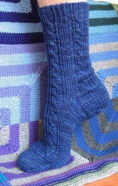 Ravelry: Alpha Socks by Tanis Lavallee (free pattern)