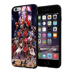 "NBA Basketball Player The Legend Michael Jeffrey Jordan , Cool iPhone 6 Plus (6+ , 5.5"") Smartphone Case Cover Collector iphone TPU Rubber Case Black Phoneaholic http://www.amazon.com/dp/B00WGZ113W/ref=cm_sw_r_pi_dp_6QPpvb1X42BXZ"