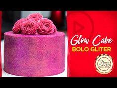 Glow Cake - Bolo Gliter - YouTube