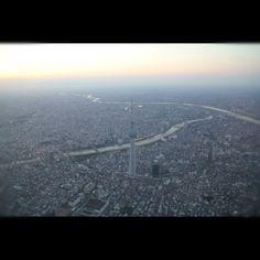 Sobrevolando Tokio en helicóptero con Excel Air.