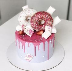 Oreo Cake Recipes, Perfect Chocolate Cake, Cool Cake Designs, Lemon Cake Mixes, Baby Birthday Cakes, Grands Parents, Crazy Cakes, Cupcake Cakes, Cupcakes