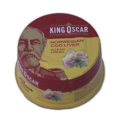 King Oscar Cod Liver in Own Oil, 6.67-Ounces Tins, 190 Gr... https://www.amazon.com/dp/B002147OIO/ref=cm_sw_r_pi_dp_YPrxxb36J9B8M   170 each